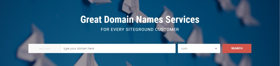 siteground domain check